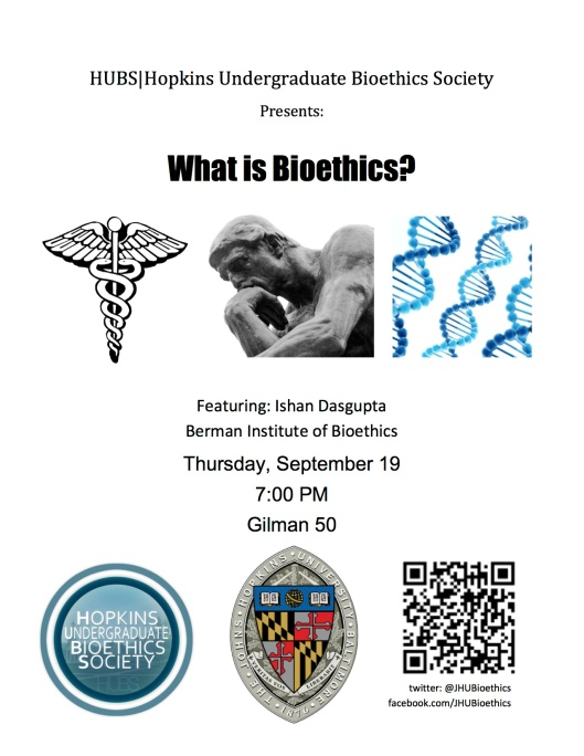 What is Bioethics flyer